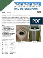 Manual Serv Lav Brastemp 6Th Sense BWH08B e XWH08A