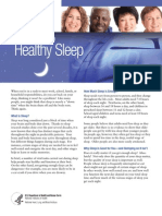 Healthy Sleep Fs