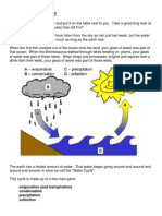 the water cycle modified