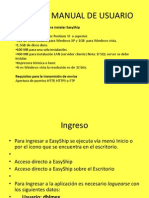 Easyship Manual de Usuario