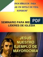 1-Jesús nuestro ejemplo de mayordomía
