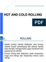 Hot and Cold Rolling