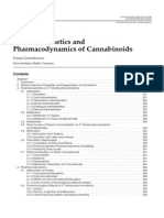 Pharmacokinetics and Pharmacodynamics of Cannabinoids