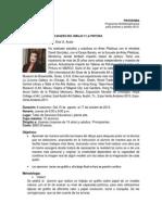 Porgrama. Posibilidades Del Dibujo y de La Pintura. Agos Oct 2013