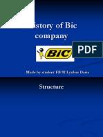 History of Bic Company