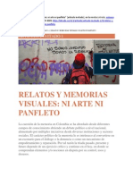 Ni Arte Ni Panfleto (Colombia)
