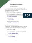 How to Setup Streams