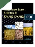 3b Microsoft PowerPoint - Serealia & Kacang