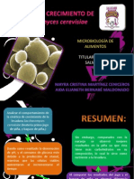 CINÉTICA DE Saccharomyces cerevisiae