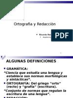 ORTOGRAFÍA Y REDACCIÓN
