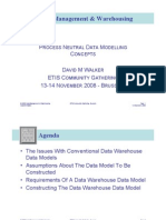 ETIS08 - Process Neutral Data Modelling Concepts - Presentation