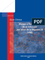 Guia Clinica Maneja y TX de La Inf. Por VHB