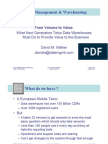Oracle Bi 06 - From Volume to Value - Presentation