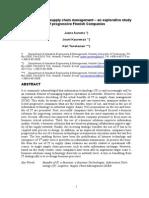 Benefits of IT in Supply Chain Management-Kauremma