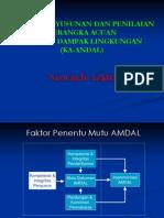 Penyusunan Ka Andal Ir Syamsuddin