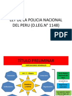 Ppt Ley de La Policia Nacional Del Peru (