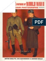 (1993) (Europa Militaria No.14) Red Army Uniforms of World War II in Color Photographs