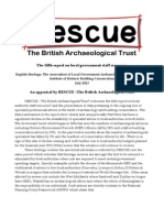 Report on Heritage Staff Resources RESCUE Response