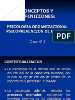 Cl 2 Psicologia Organizacional