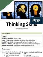 thinking skills cpd