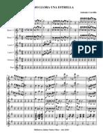 Como Llora Una Estrella.orquesta e Instrumentos.solfeo y Cifra