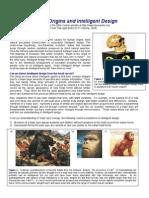 Human Origins and Intelligent Design