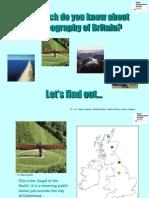 35 Introducing Britains Geography Quiz