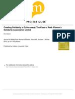 Stephan, Rita - Creating Solidarity in Cyberspace - The Case of Arab Women's Solidarity Association United