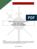 Fiore Dei Liberi - Flos Duellatorum en Castellano