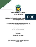 Rafael Aguilera Informe de Pasantia