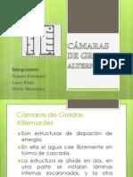 CÁMARAS DE GRADAS ALTERNANTES