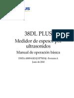 38dl Plus--basic Operation Rev a (Es)