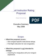WSI Rating Executive Summary