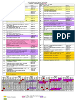 NIFT Academic Calender 2013-2014