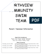 Updated Parent Packet - Summer 2009