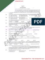 IBPS RRB CWE Clerk Exam Paper Held 09-09-2012