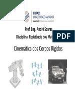 Cinemética dos Corpos Rígidos