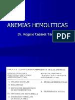Anemias Hemoliticas 2013