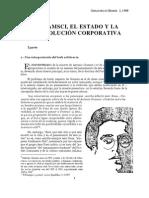Gramsci, el Estado y la revolución corporativa
