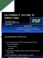 California Culture of Corrections