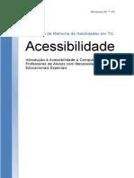 Acessibilidade - Windows XP