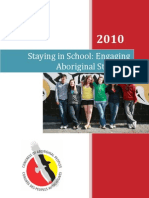 Staying in school - engaging aboriginal students