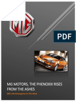 MG MOTORS, THE PHENOXIX RISES FROM THE ASHES