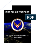 Irregular Warfare Air Force Doctrine Document 2-3 1 August 2007