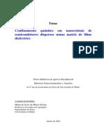 Confinamento Quantico Monografia