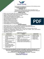 plc scada specialist -  2013