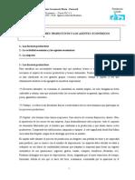 Tema 2. Los Factores Productivos y Los Agentes EconÃ&Sup3;Micos