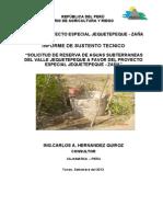 Informe AGUAS SUBTERRÁNEAS_JEQUETEPEQUE_20092013