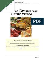 Recetas Caseras Con Carne Picada