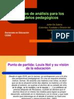 Modelos pedagógicos CRITERIOS